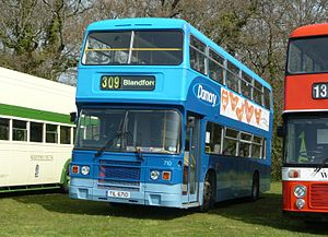 Damory Coaches - Leyland Olympian in April 2010