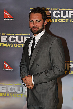 Daniel MacPherson - MacPherson at the Sydney premiere of The Cup in 2011
