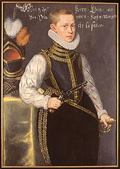 Portrait of Maurice of Nassau