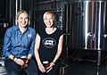 Danielle Allen and Jayne Lewis owners of Two Birds Brewing.jpg