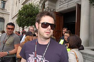 Danny Dyer - Dyer at the Gumball 3000 in 2007