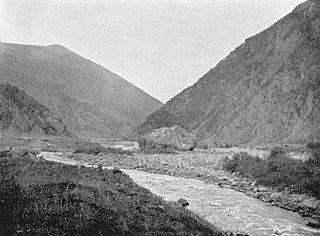 Darial Gorge mountain pass