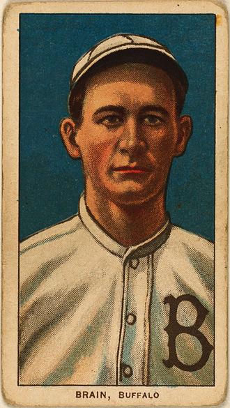 Dave Brain - Image: Dave Brain, Buffalo, ca. 1910