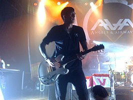 David Kennedy op tour met Angels & Airwaves