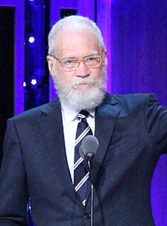 David Letterman American comedian and actor
