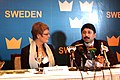 Dayanidhi Maran and the visiting Sweden Dy. Prime Minister & Minister for Enterprise and Energy Ms. Maud Olofsson at the inaugural function of the India–Sweden Business Forum in Chennai, on February 01, 2007.jpg