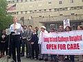 De Blasio Updates NY'ers on Lawsuit to Keep L.I.C.H. Open (9474821482).jpg