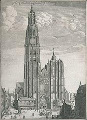 De kathedraal van Antwerpen