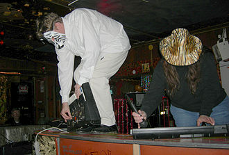 Dead Air Fresheners - Dead Air Fresheners, performing 12 January 2008 at Bob's Java Jive, Tacoma, Washington.