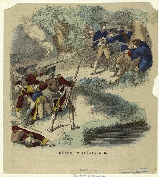 """Résultat de recherche d'images pour """"death of jumonville"""""""