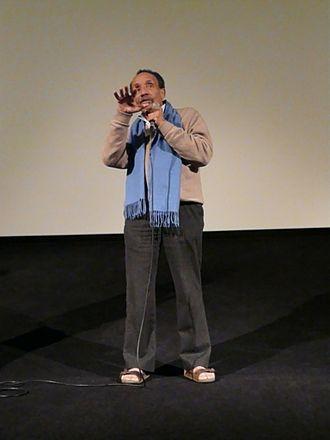 Pierre Rabhi - Rabhi debating in Nantes, 2010.