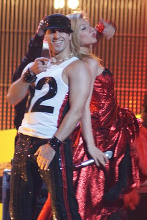 Bulgaria in the Eurovision Song Contest - Image: Deep Zone & Balthazar 2008 Eurovision