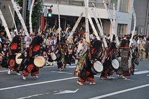 Kitakami Michinoku Traditional Dance Festival - Deer dance of Oshu, Iwate