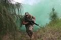 Defense.gov News Photo 100519-M-9232S-016 - U.S. Marine Corps Lance Cpl. Mykel Thaete of the Advanced Infantry Training Battalion School of Infantry West Detachment Hawaii runs for.jpg