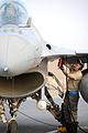Defense.gov News Photo 100707-F-9119C-081 - U.S. Air Force Senior Airman Jaymes Russell a crew chief with the 169th Aircraft Maintenance Squadron McEntire Joint National Guard Base S.C..jpg