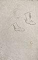 Dehodencq A. - Crayon - Etude de visage et de pieds chaussés - 20x31cm.jpg