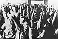 Delegates of Inner Mongolia People's Congress shouting slogans.jpg