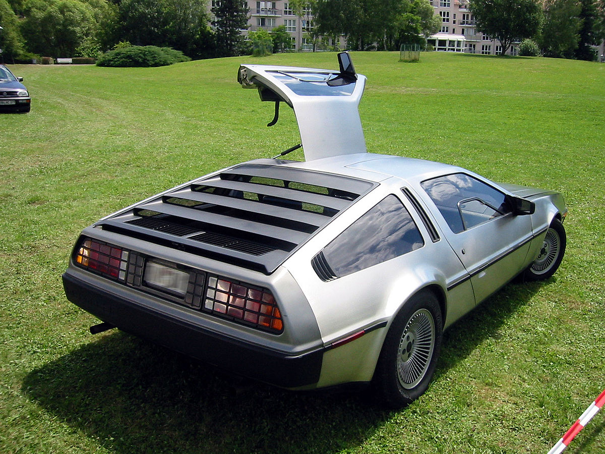 delorean dmc 12 wikipedia den frie encyklop di. Black Bedroom Furniture Sets. Home Design Ideas