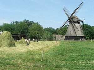 The Funen Village - A flour mill