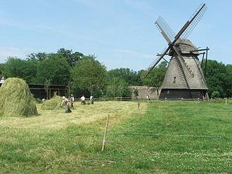 The Funen Village - A flour mill