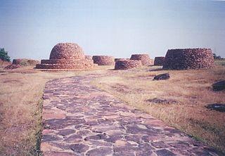 Deur Kothar Archaeological site in India