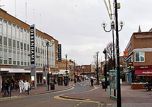 Harrow, London - Image: Department store, Harrow geograph.org.uk 99134