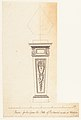 Design for a Pedestal, for Richmond House, Whitehall, London MET DP154013.jpg
