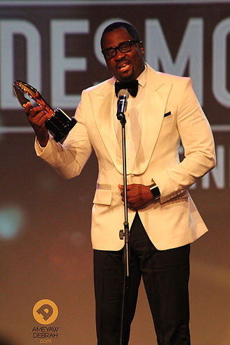 Desmond Elliot - Elliot at the 2014 Africa Magic Viewers Choice Awards in Lagos