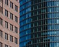Detail, Kollhoff Tower and BahnTower, Potsdamer Platz, Berlin, Germany-3380.jpg