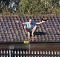 Detainee on roof top at the villawoode detention centre.JPG