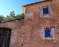 Detall de façana, masia del segle XVIII.jpg
