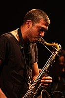 Deutsches Jazzfestival 2013 - Guillaume Perret and The Electric Epic - Guillaume Perret - 01.JPG
