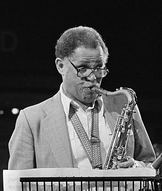 Dexter Gordon - At the 1980 Edison Award, Amsterdam