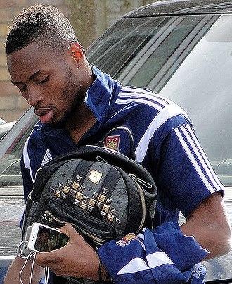 Diafra Sakho - Sakho with West Ham United in 2015