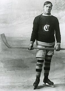 Didier Pitre Canadian ice hockey player