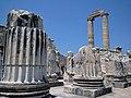Didyma, Turkey, Temple of Apollon, sky pillars.jpg