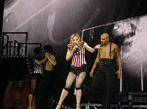 "I'm Going to Tell You a Secret - Madonna performing ""Die Another Day"" on the Re-Invention World Tour"