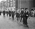 Diesviering van de Rijksuniversiteit te Utrecht, Prins Bernhard in de stoet van , Bestanddeelnr 911-1207.jpg