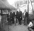 Dignitaries at the Igorrote Village, Alaska Yukon Pacific Exposition, Seattle, 1909 (AYP 274).jpeg