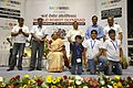 Dignitaries with Prize Winners - Valedictory Session - Indian National Championship - WRO - Kolkata 2016-10-23 9098.JPG
