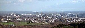 Dillingen, Saarland - Image: Dillingen Saar von Siersburg