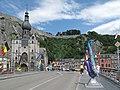 Dinant, la Collégiale Notre-Dame en de brug positie1 foto1 2012-06-30 15.03.JPG