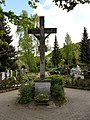 Dittigheim Kulturdenkmal 54 Friedhofskreuz errichtet im Jahre 1989 - 1.jpg