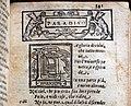 Divina commedia... ridotta a miglior lezione dagli accademici della crusca, per domenico manzani, firenze 1595, 07 inizio paradiso ed emblema avvampato.jpg