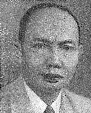 Djamaluddin Adinegoro - Adinegoro in 1954