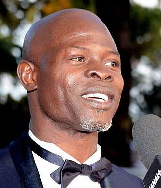 How to Train Your Dragon 2 - Image: Djimon Hounsou Cannes 2014