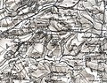 Docklow and Hampton Wafer, Herefordshire, OS Map Sheet 198 - Hereford (Hills) 1898.jpg