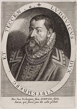 Ludwig, Württemberg, Herzog, 1554-1593