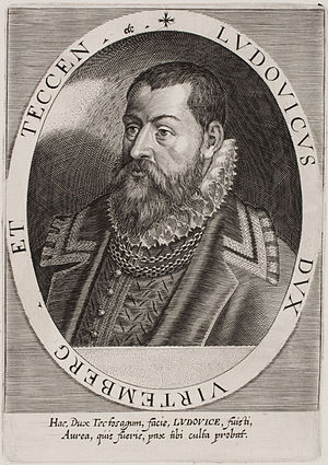 Louis III, Duke of Württemberg - Image: Dominicus Custos Herzog Ludwig von Württemberg