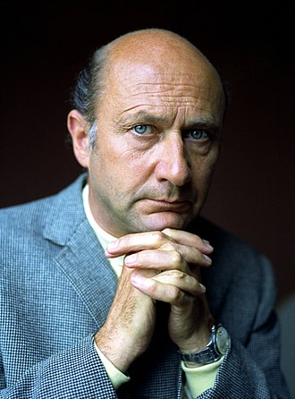 Donald Pleasence - Pleasence in London, 1973. Portrait by Allan Warren